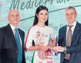Hoa hậu Ngọc Hân được Italy phong danh hiệu Đại sứ ẩm thực