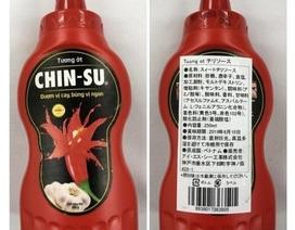 Nhật Bản thu hồi hơn 18.000 chai tương ớt Chinsu nhập khẩu không đảm bảo
