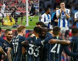 Vượt qua Brighton, Man City vào chung kết FA Cup