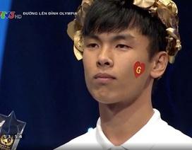Nam sinh Ninh Bình giành chiến thắng ở cuộc thi Tháng 1 Quý 3 Olympia