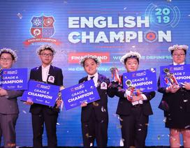 Lộ diện 5 quán quân của cuộc thi toàn quốc English Champion 2019