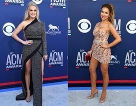 Carrie Underwood đẹp kiêu sa dự lễ trao giải nhạc đồng quê