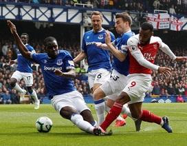 """Những khoảnh khắc """"tắt lịm"""" của Arsenal trước Everton"""