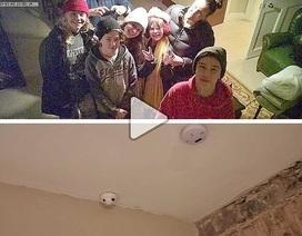 Khách thuê phòng phát hiện camera giấu kín livestream