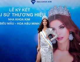Hoa hậu siêu quốc gia châu Á trở thành đại sứ thương hiệu nha khoa Kim