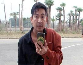 Bắt Trần Đình Sang - người hay quay, chụp cảnh sát giao thông