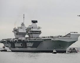 Tàu sân bay Anh có thể đến châu Á ngay trong sứ mệnh đầu tiên