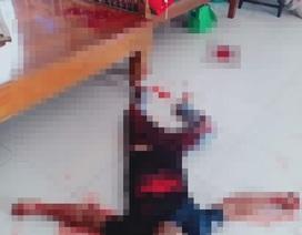 Chồng hờ đến thăm con, vợ nghi dùng bình xịt hơi cay và dao giết