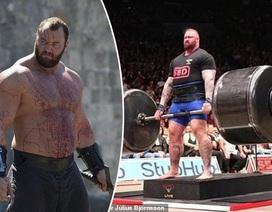 """Nam diễn viên cơ bắp trở thành """"Người đàn ông khỏe nhất Châu Âu"""" lần thứ 5"""