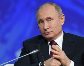 Phản ứng của ông Putin khi phiên dịch viên tự ý sửa lời