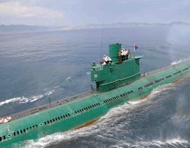 Triều Tiên sắp có tàu ngầm mang tên lửa đạn đạo mới?