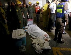 Hiện trường vụ cháy trung tâm thương mại Thái Lan khiến ít nhất 3 người chết