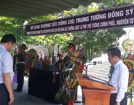 Quảng Trị tổ chức Lễ viếng Trung tướng Đồng Sỹ Nguyên tại Nghĩa trang liệt sĩ Trường Sơn