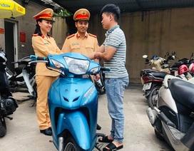 Từ Lạng Sơn xuống Hà Nội nhận lại xe bị trộm 4 năm trước