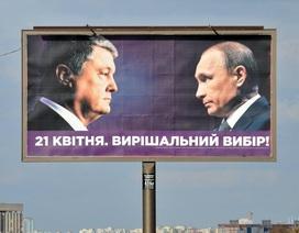 """Kremlin lên tiếng về """"sự xuất hiện"""" của ông Putin trong bầu cử Ukraine"""