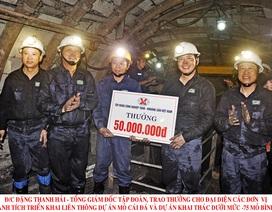 TKV: Tiền lương bình quân người lao động toàn Tập đoàn lần đầu đạt 2 con số hàng triệu