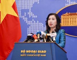Việt Nam xác minh thông tin giàn khoan Trung Quốc hoạt động tại vịnh Bắc Bộ