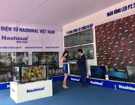 Ấn tượng với dòng sản phẩm Tivi Cường lực Smart 4K Nashinal tại Vietnam Expo 2019