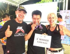 Chàng trai Việt vô địch giải Dù lượn ASEAN mở rộng 2019