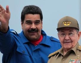 """Cuba tuyên bố không bỏ rơi Venezuela bất chấp """"sự hăm dọa"""" của Mỹ"""