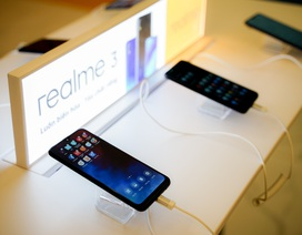Realme ghi dấu trên thị trường smartphone Việt