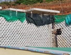 """Dân đồng ý bán đất, Sở nói kiên quyết thực hiện phương án tháo dỡ tường chắn """"khủng"""""""