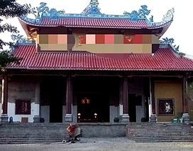 Vụ thầy trụ trì chùa bị chém trọng thương: Do bệnh tâm thần của nghi can tái phát