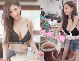 Cô gái bán nộm Thái Lan nổi tiếng vì quá gợi cảm