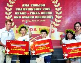 AMA English Championship 2019 - Nơi ươm mầm tài năng tiếng Anh