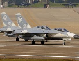 Mỹ bán gói hỗ trợ 500 triệu USD cho máy bay F-16 của Đài Loan