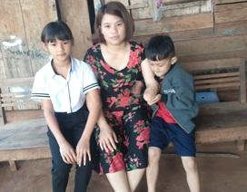 Bố mất, mẹ dính khối u, nhà bị siết nợ, hai đứa bé bơ vơ không lối thoát!