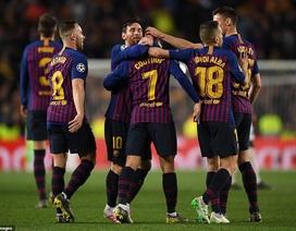 Xác định hai cặp đấu bán kết Champions League