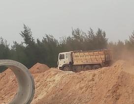 """Quảng Bình: """"Trảm"""" doanh nghiệp lớn ngang nhiên trộm cát!"""