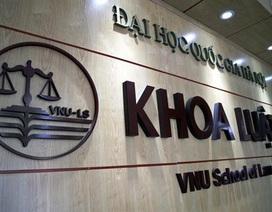Khoa Luật, ĐH QGHN xin lỗi thí sinh vì công bố 4 mã ngành tuyển sinh chưa chính xác