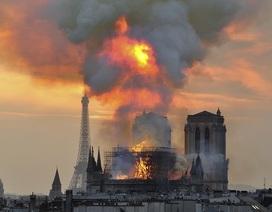 Nhà thầu trùng tu Nhà thờ Đức Bà lên tiếng giữa nghi vấn gây ra hỏa hoạn