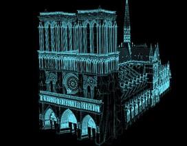 Nhà thờ Đức Bà Paris có thể được tái tạo lại như nguyên bản nhờ công nghệ 3D