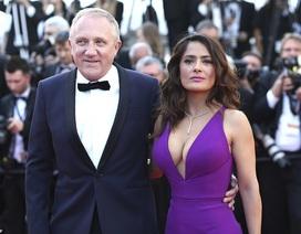 Nữ diễn viên Salma Hayek tự hào vì chồng đóng góp 100 triệu euro