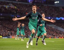 """Nhìn lại """"cơn mưa bàn thắng"""" ở trận đấu giữa Man City và Tottenham"""