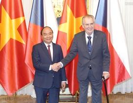 Thủ tướng Nguyễn Xuân Phúc hội kiến Tổng thống Cộng hòa Séc