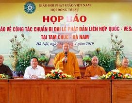Đại biểu từ 105 quốc gia sẽ đến Việt Nam dự Đại lễ Phật đản Liên Hợp Quốc