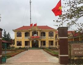 Cảnh cáo Bí thư Đảng ủy xã để vợ kê khai khống cho con gái hưởng tiền