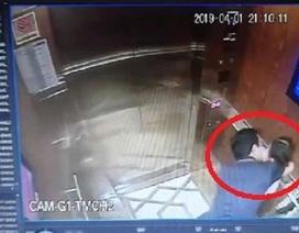 """""""3 lần xô vào ôm hôn bé gái trong thang máy sao có thể gọi là… nựng?!"""""""