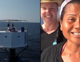 Thái Lan kêu gọi cặp đôi xây nhà nổi giữa biển ra đầu thú