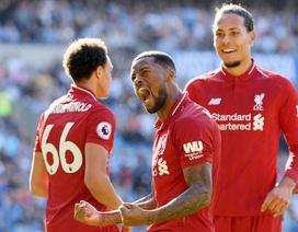 Cardiff 0-2 Liverpool: The Kop trở lại ngôi đầu bảng