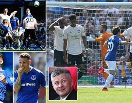 Những khoảnh khắc tan nát của Man Utd trước sức mạnh của Everton