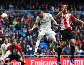 Real Madrid 3-0 Bilbao: Cú hattrick của Benzema