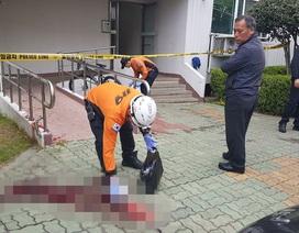 Hàn Quốc: Bực tức vì bị chậm lương, người đàn ông đốt chung cư, đâm 5 người