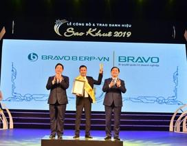 BRAVO 8 (ERP-VN) đạt danh hiệu Top 10 Sao Khuê 2019
