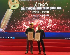 CUBIC Architects giành cú đúp Giải thưởng Kiến trúc quốc gia 2018