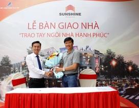 Đất Xanh Đông Nam Bộ tiếp tục bàn giao nhà phố Sunshine Residence theo đúng tiến độ cam kết